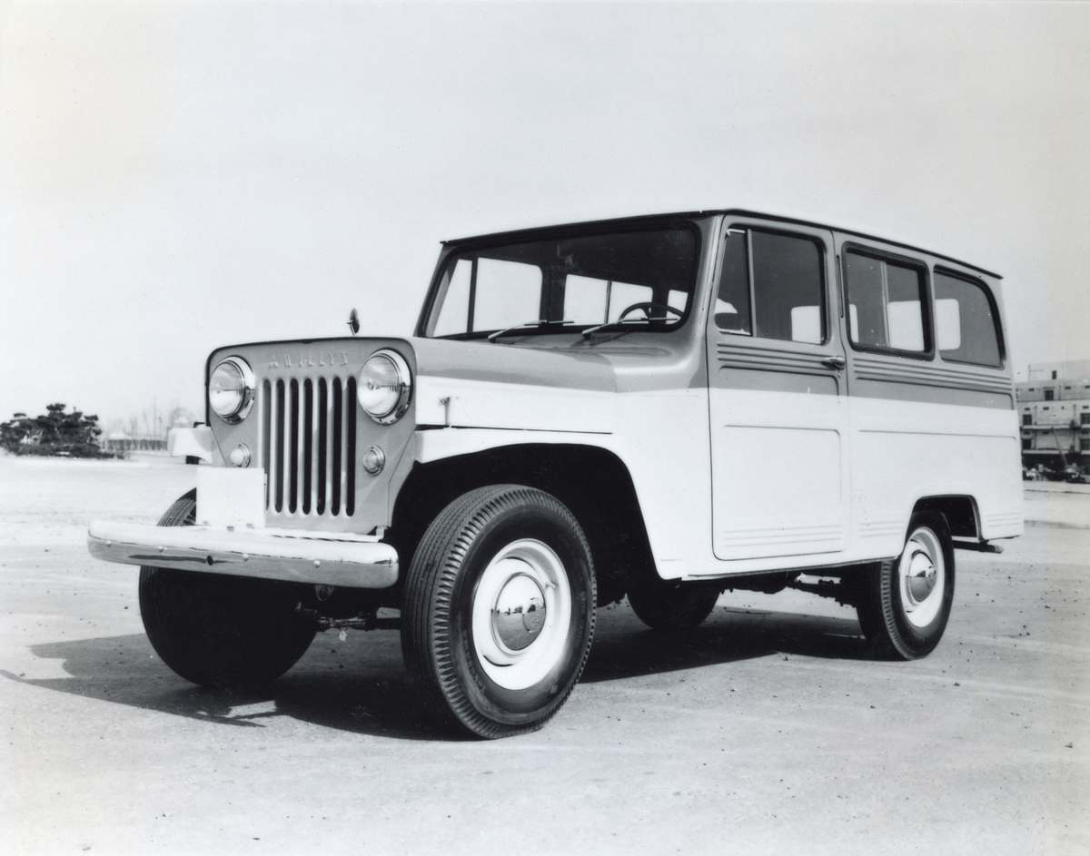 jeep j3 wagon 1956