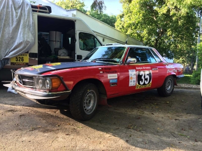 NAC Rally Team na starcie East African Safari Classic Rally 2015