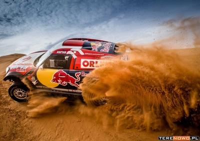 Tuzin MINI All4 Racing na starcie rajdu Dakar 2016