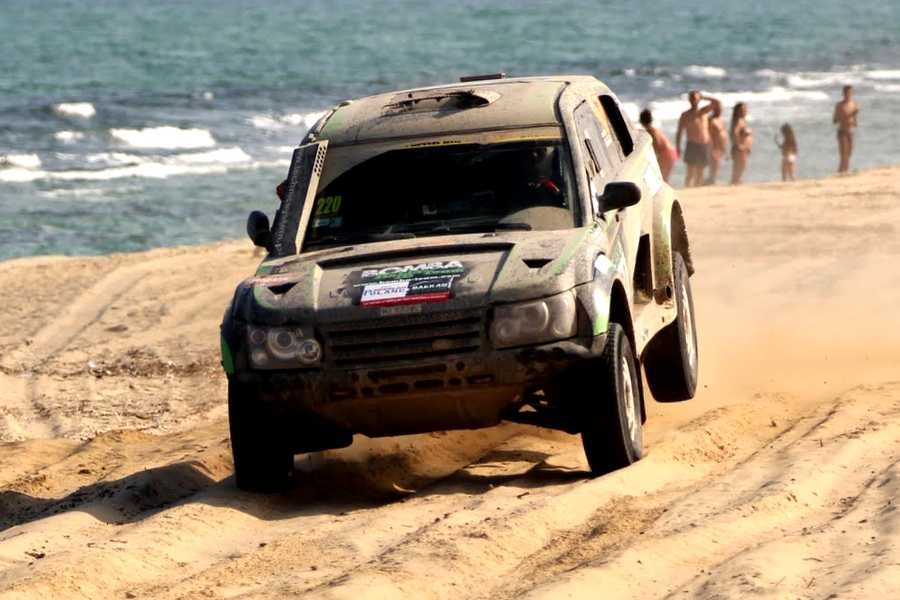 Finał Balkan Offroad Rallye 2015. Long Beach Finish