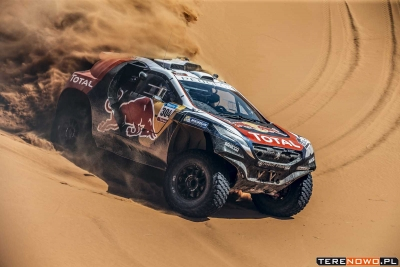 Dakar 2016. Sébastien Loeb dołącza do Dream Teamu Peugeot-Total