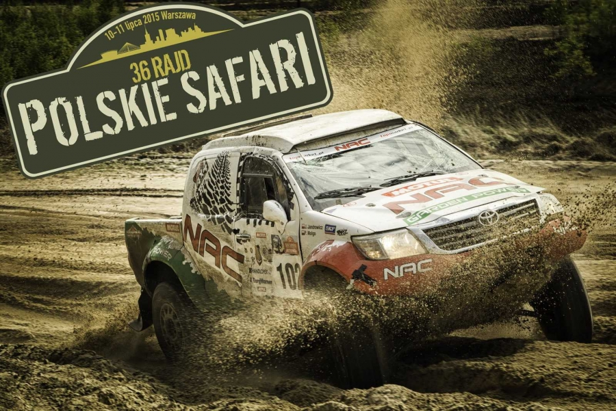 Polskie Safari 2015. Off-road w centrum stolicy