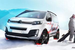 Citroën SpaceTourer 4X4 Ë Concept – terenowy van dla współczesnych nomadów