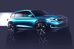 ŠKODA VisionS - nowy czeski SUV zadebiutuje w Genewie