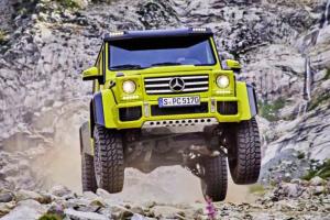 Żegnaj Mercedesie G 500 4x4²