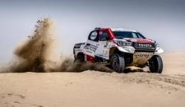Manateq Qatar Cross Country Rally 2019 - Al-Attiyah poza zasięgiem rywali. Al-Rajhi i Przygoński walczą o miejsca 2 i 3