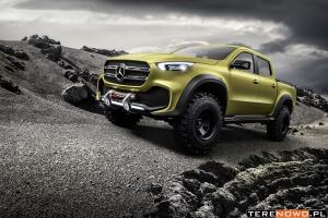 Mercedes Klasy X – bliźniak z aspiracjami