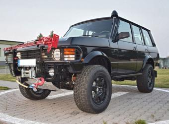 Nowe życie weterana. Range Rover Classic pełen tajemnic