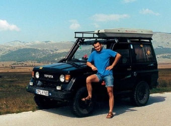 Toyota Land Cruiser 2.4 TD (2004) - Mariusz Reweda