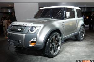 Land Rover odjechał na Słowację