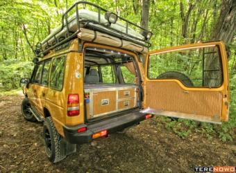 """Land Rover Discovery """"Camel Trophy"""" by krakowski Land Serwis - poprawianie legendy"""