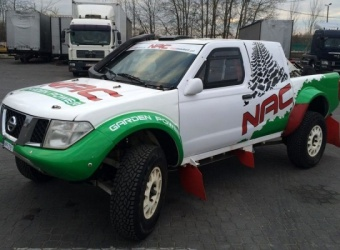 Nissan Navara T1 - nowa broń NAC Rally Team