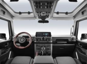 INEOS ujawnia wnętrze Grenadiera – następcy Land Rovera Defendera