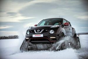 Nissan Juke Nismo RSnow – prezent dla Świętego Mikołaja
