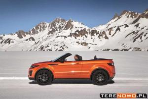 Range Rover Evoque Convertible – kabriolet na 4 pory roku