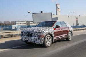 Nowy Volkswagen Touareg – w drodze na premierę