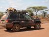 Przez Afrykę na jednym komplecie BF Goodrichów