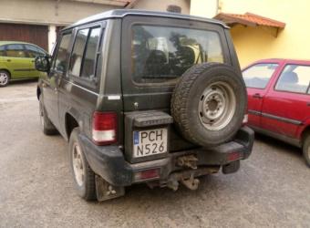 "Hyundai Galloper (1998-2003) – ""prawie"" Pajero?"