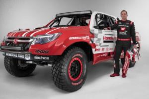 Honda Ridgeline Baja Race Truck - wyczynowa przedpremiera