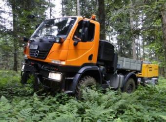 Universal Motor Gerät, czyli Kamel za kierownicą Unimoga U20