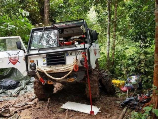 Rainforest Challenge 2017 od kuchni