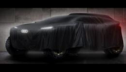 Fabryczne Audi na starcie rajdu Dakar 2022