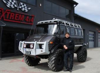 Unimog 416 by Extrem 4x4 – autobus do zadań specjalnych