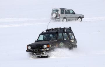 Gołdapska Góra 2011, czyli śnieżny off-road na Mazurach Garbatych
