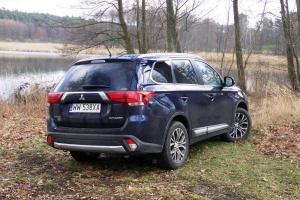 Mitsubishi Outlander 2.2 DID na straży lasu