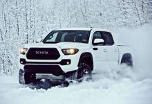 Toyota Tacoma TRD Pro - śnieżna bestia