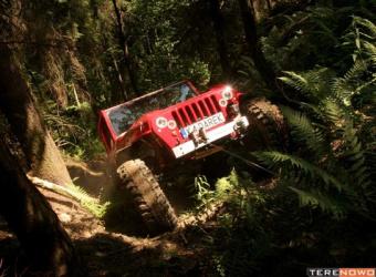 Jeep EVO II Darka Luberdy (2009) - wejście smoka